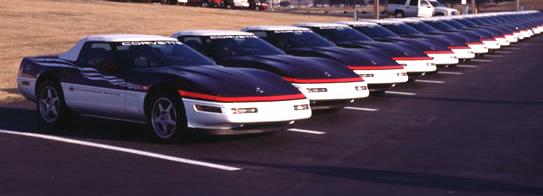 1995 Indianapolis 500 Corvette Festival Cars